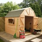 8' x 8' Double Door Premier Tongue and Groove Dutch Barn Shed