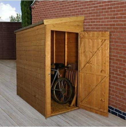 6 X 3 Tongue And Groove Pent Tall Store With Universal Door