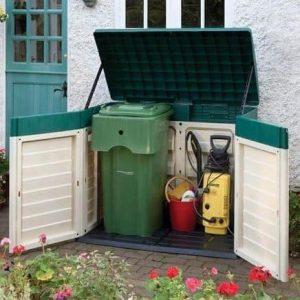 Double Door Plastic Garden Store