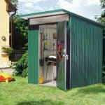 1.8m x 1.8m Biohort AvantGarde Metal Shed - Single Door Size M