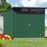 1.8m x 2.6m Biohort AvantGarde Metal Shed - Single Door Size L