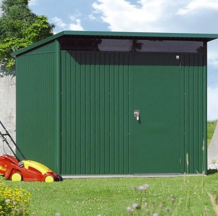 1.8m x 2.6m Biohort AvantGarde Metal Shed - Single Door Size L