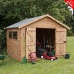 10' x 10' Shiplap Tongue and Groove Workshop Shed