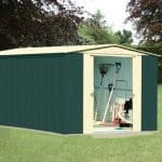 10' x 13' Canberra Metal Shed