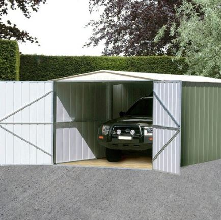 10' x 15' Canberra Metal Garage