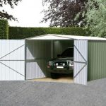 10' x 19' Canberra Metal Garage