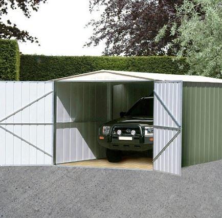 10' x 19' Canberra Metal Garage