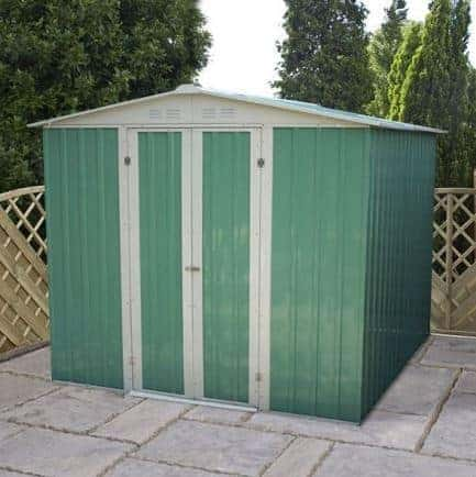 10' x 6' Budget Apex Metal Shed