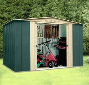 10' x 7' Canberra Metal Shed