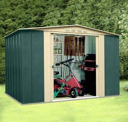 10' x 8' Canberra Metal Shed