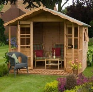 10' x 8' Stratford Summer House With Veranda
