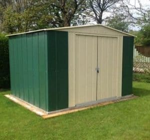 10' x 9' Canberra Metal Shed
