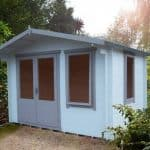 11' x 10' Shire Berryfield Log Cabin