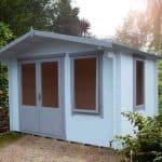 11' x 8' Shire Berryfield Log Cabin