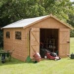 12' x 10' Shiplap Tongue and Groove Workshop Shed