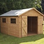 12 x 10 Shiplap Tongue and Groove Workshop Shed Overall Appearance