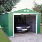 12' x 20' Emerald Olympian Metal Garage