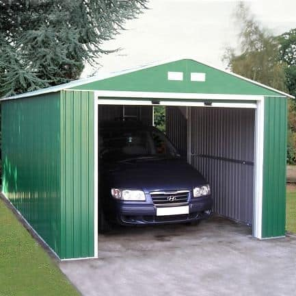 12' x 38' Emerald Olympian Metal Garage