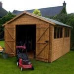 16' x 10' Shiplap Tongue and Groove Workshop Shed