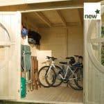 2.46m x 4.9m Rowlinson Connor Log Cabin Internal