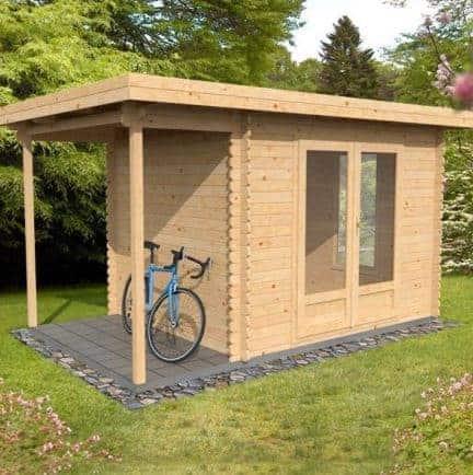 2.5m x 3m Zen Log Cabin
