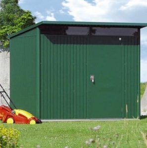 2.6m x 2.6m Biohort AvantGarde Metal Shed - Single Door Size XL