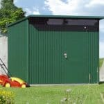 2.6m x 3.8m Biohort AvantGarde Metal Shed - Single Door Size XXL