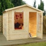 2m x 2.5m Mini Log Cabin Studio Featured