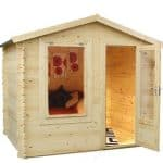 2m x 2.5m Mini Log Cabin Studio