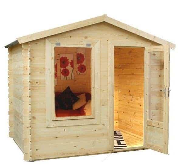 Garden Sheds 2m X 2m x 2.5m mini log cabin studio