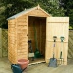 3' x 5' Waney Edge Budget Shed