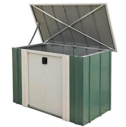 4' x 2' Rowlinson Metal Garden Storette