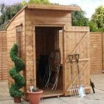 4' x 6' Curved Roof AERO Shed
