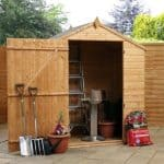 4' x 6' Value Shiplap Garden Shed With No Windows