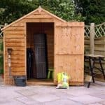 4' x 6' Waney Edge Budget Shed