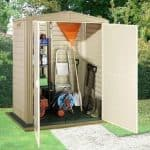5' x 3' Duramax Littlehut Plastic Apex Shed With Floor