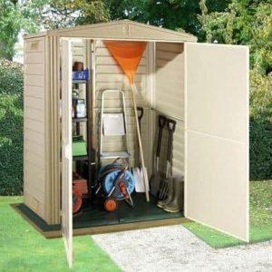 5' x 3' Duramax Littlehut Plastic Apex Shed With Floor