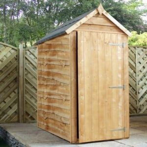5' x 3' Waney Edge Budget Shed
