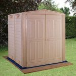 5' x 5' Duramax Largehut Plastic Apex Shed With Floor