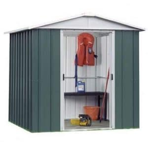 6' 6 x 4' 4 Yardmaster Apex Metal Garden Shed