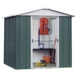 6' 6 x 7' 2 Yardmaster Metal Apex Garden Shed