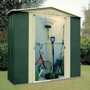 6' x 3' Canberra Metal Shed