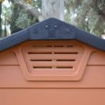 6 x 3 Palram Skylight Plastic Amber Shed air vent