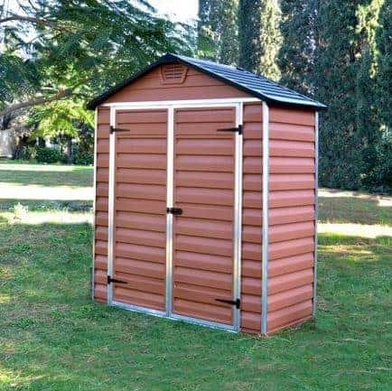 6 X 3 Palram Skylight Plastic Amber Shed