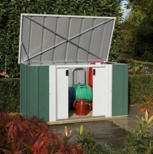 6' x 3' Rowlinson Metal Garden Storette