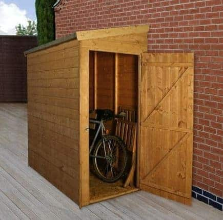 6' x 3' Tongue and Groove Pent Tall Store with Universal Door