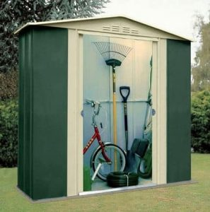 6' x 4' Canberra Metal Shed