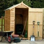 6' x 4' Waney Edge Budget Shed