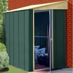6' x 5' Canberra Lean-To Metal Shed