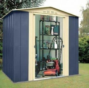6' x 5' Canberra Mountain Blue Metal Shed